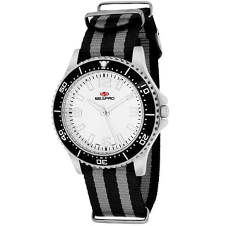 Seapro Women's SP5417NBK Tideway Round Two-tone Nylon Strap Watch