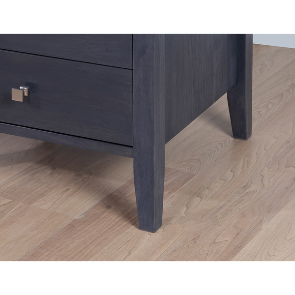 Aristo Dark Grey Black 4 Drawer Dresser Free Shipping Today 80008418