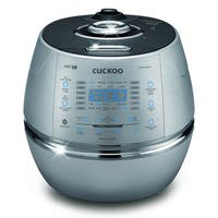 Cuckoo CRP-CHSS1009FN 10-Cup Pressure Rice Cooker, 110V, Metallic
