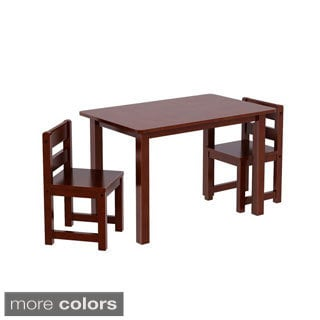 Maxtrix Kids Teatime Play Table with Two Small Chairs