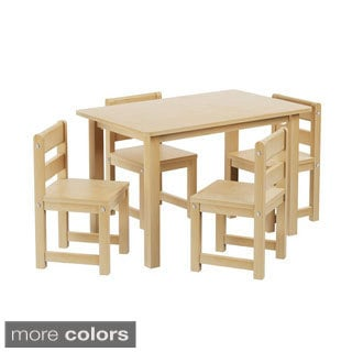 Shop Maxtrix Kids Playtime Play Table With Four Small Chairs   Free  Shipping Today   Overstock.com   10343573