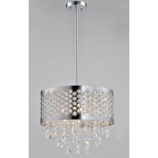 Artiva USA Catalyn 4-light Chrome Crystal Chandelier