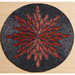 """15"""" Glass Beaded Placemat by KINDWER"""