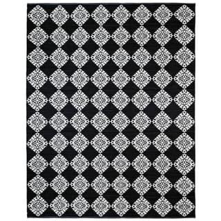 Black Medallion Cotton Jacquard (9'x12') Rug https://ak1.ostkcdn.com/images/products/10343626/P17452931.jpg?impolicy=medium