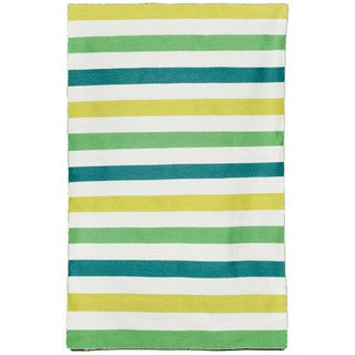Bold Stripe Outdoor Rug (5' x 7'6)