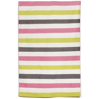 Bold Stripe Outdoor Rug (7'6 x 9'6)