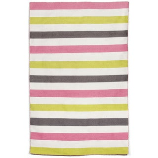 Bold Stripe Outdoor Rug (8'3 x 11'6)