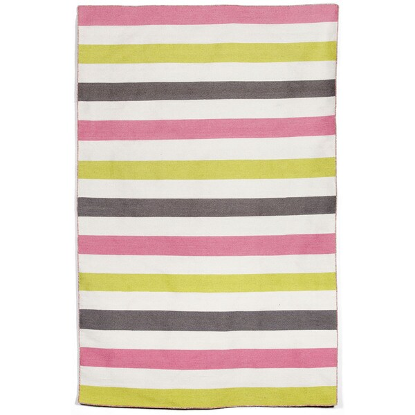 Bold Stripe Outdoor Rug - 8'3 x 11'6