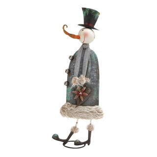 Metal Decorative Snow Man