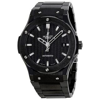 Hublot Men's 511.CM.1770.CM 'Classic Fusion' Automatic Black Ceramic Watch