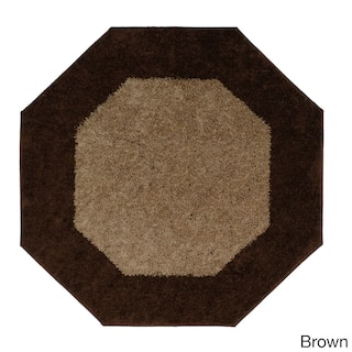 Frisse Two Tone Octagon Accent Rug 6 X6