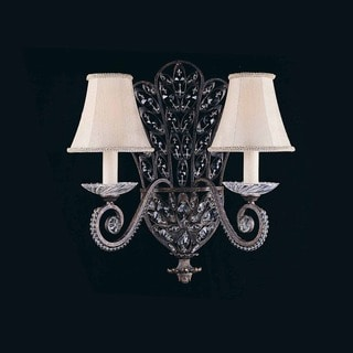 Lumenno Prague Collection 2-light Bronze Wall Sconce