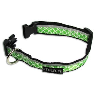 Petflect x Out On Green Reflective Dog Collar