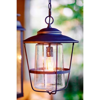 Capital Lighting Creekside Collection 1-light Black Outdoor Hanging Lantern