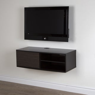 South Shore Furniture Agora Wood 38-inch Wall-mounted Media Console