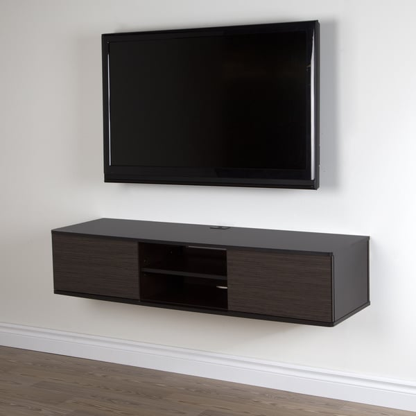 Shop South Shore Agora 56 Inch Wall Mounted Media Console