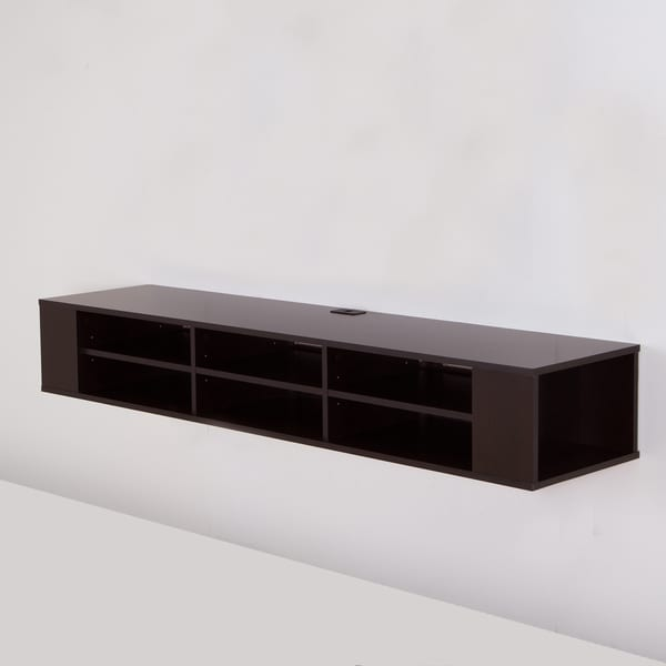 south shore city life 66 inch wall mounted media console. Black Bedroom Furniture Sets. Home Design Ideas