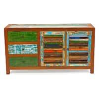 Sea Saw Reclaimed Wood Cabinet