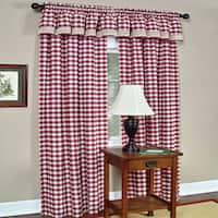 Classic Buffalo Check Window Panels Or Valances