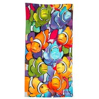 Clown Fish Printed Beach Towel (Set of 2)