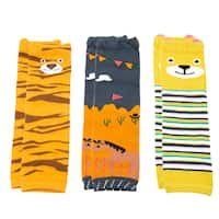 Crummy Bunny Boys' Animals Leg Warmers (Set of 3)