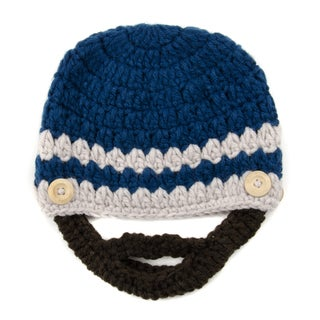 Crummy Bunny Blue Brunette Beard Hat