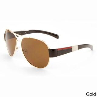 EPIC Eyewear 'Dale' Vintage Speed Racer Style Aviator Sunglasses