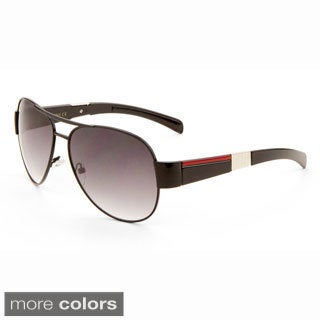 EPIC Eyewear 'Dale' Vintage Speed Racer Style Aviator Sunglasses