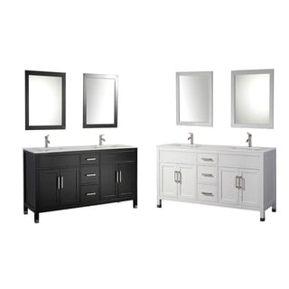 MTD Vanities Ricca 84-inch Double Sink Bathroom Vanity Set