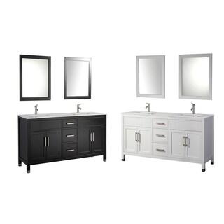 MTD Vanities Ricca 84-inch Double Sink Bathroom Vanity Set
