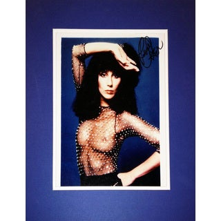 Music Legend Cher - Autographed