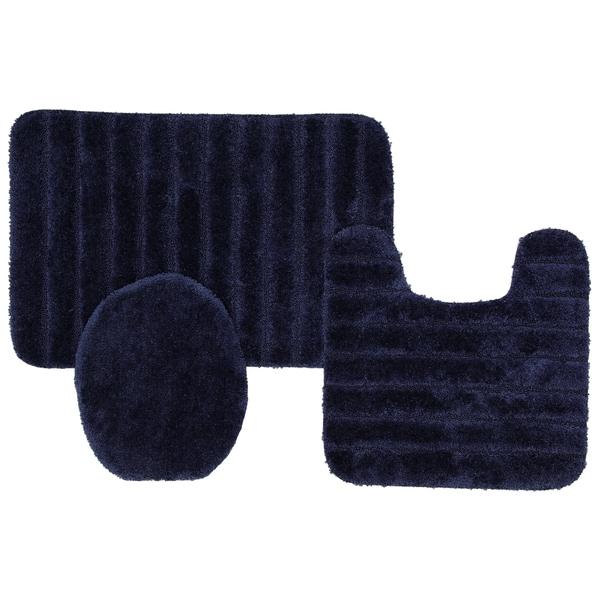 Mohawk Home Veranda Rug (Set Contains: 20 x 30, 20 x 20 Contour and Universal Toliet Lid Cover)