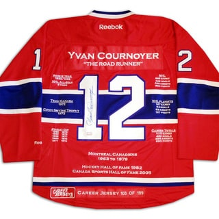 Yvan Cournoyer Career Jersey