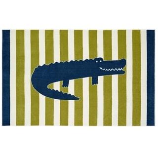 Mohawk Home Aurora Friendly Alligator Multi (5' x 8')