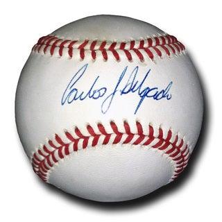 Carlos Delgado - American League Autgraphed Baseball