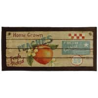 """Mohawk Home New Wave Fruit Crate Area Rug - 1' 8"""" x 3' 9"""""""