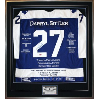 Darryl Sittler Career Jersey #27 of 199