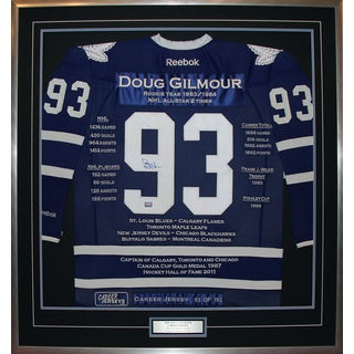 Doug Gilmour Career Jersey #93 of 193