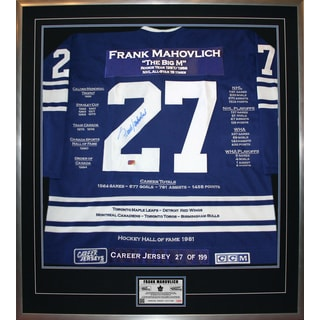 Frank Mahovlich Career Jersey #27 of 199