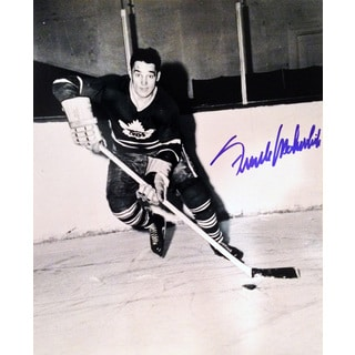 Frank Mahovlich Autographed 8X10 Photograph - Toronto Maple Leafs (BW)