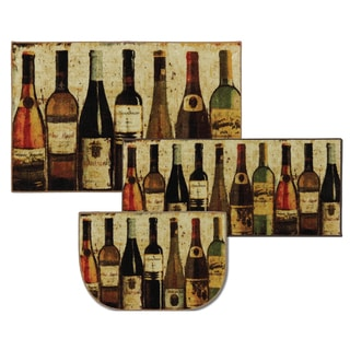 Mohawk Home New Wave Wine Row Multi (Set Contains: 20 x 45, 30 x 48 and 20 x 30 Slice)