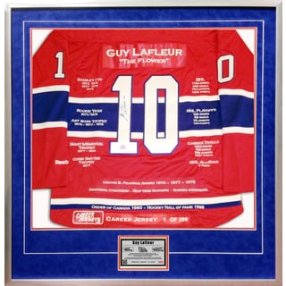 Guy Lafleur Career Jersey #1 of 299
