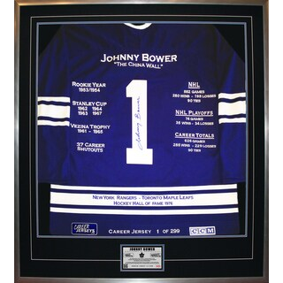 Johnny Bower Career Jersey #1 of 299