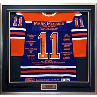 Mark Messier Career Jersey #11 of 199