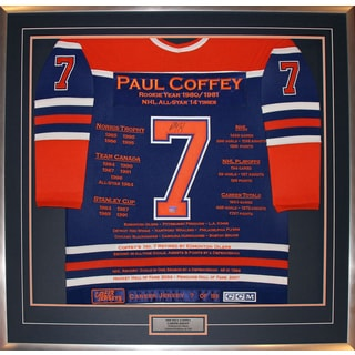 Paul Coffey Career Jersey #7 of 199