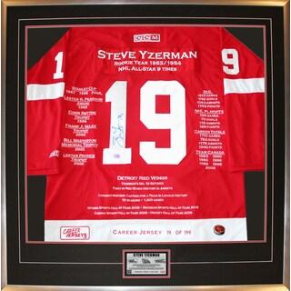 Steve Yzerman Career Jersey #19 of 199