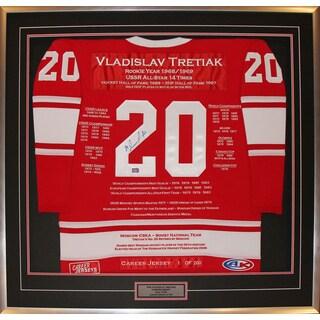 Vladislav Tretiak Career Jersey #1 of 200