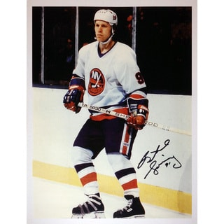 Butch Goring Autographed 8X10 Photograph - New York Islanders