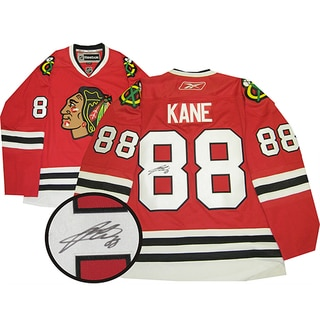 Patrick Kane Autographed Red Chicago Blackhawks Jersey