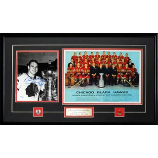 Autographed Bobby Hull 1961 Stanley Cup